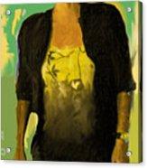Joyce Acrylic Print