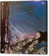 Joycean Night Acrylic Print