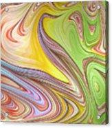 Joyful Flow Acrylic Print