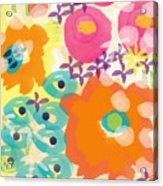 Joyful Garden Acrylic Print