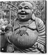 Joyful Lord Buddha Acrylic Print
