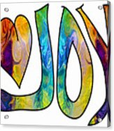 Joyful Occasions Abstract Inspirational Art By Omaste Witkowski Acrylic Print