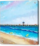 Jr. Lifeguards Acrylic Print