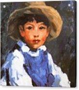 Juan Also Known As Jose No 2 Mexican Boy 1916 Acrylic Print