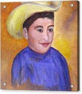Juan, 16x20, Oil, '07 Acrylic Print