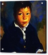 Juanita Also Known As Little Half Breed 1917 Acrylic Print