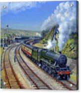 Jubilee Trafalgar At Mangotsfield Acrylic Print
