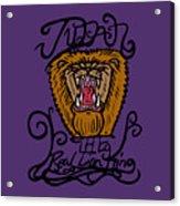 Judah The Real Lion King Acrylic Print