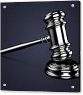 Judge Gavel. Acrylic Print