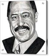Judge Joe Brown Acrylic Print