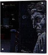 Judgemental Graffiti Acrylic Print