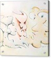 Judging Picasso Acrylic Print