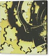 Judicial Jigsaw Acrylic Print