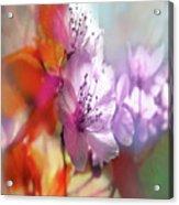 Juego Floral Acrylic Print