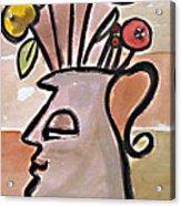 Jug Face Acrylic Print