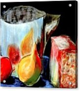 Jug With Fruit Acrylic Print