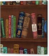 Jugglin' The Books Acrylic Print