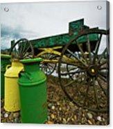 Jugs And Wagon Acrylic Print