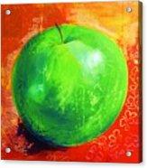 Juicy Green Acrylic Print