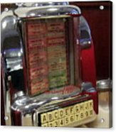 Jukebox Acrylic Print
