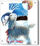 Julbocken Acrylic Print