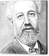 Jules Verne Acrylic Print