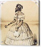 Julia Pastrana, Bearded Lady Acrylic Print