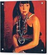 Julianita 1922 Acrylic Print