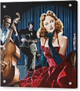 Julie London - Cry Me A River Acrylic Print