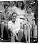 Julie's Family Acrylic Print