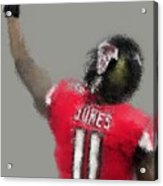 Julio Jones Acrylic Print