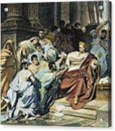 Julius Caesar (100-44 B.c.) Acrylic Print