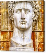 Julius Caesar At Vatican Museums 2 Acrylic Print