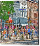 July 4th Color Guard Acrylic Print