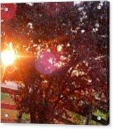 July 6 2017 Sunset 1 Of 3 Acrylic Print