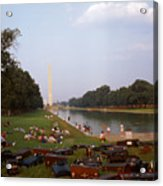 July In Dc Acrylic Print