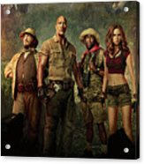 Jumanji Welcome To The Jungle 2.0 Acrylic Print