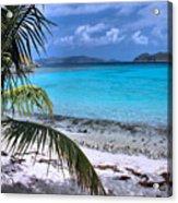 Jumbie Beach-st. John Acrylic Print