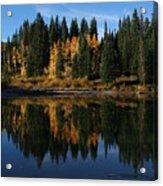 Jumbo Lake In The Fall Acrylic Print