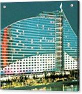 Jumeirah Beach Hotel Acrylic Print