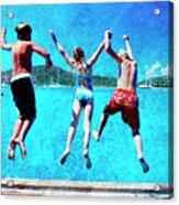 Jump In Acrylic Print