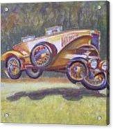 Jumpin Auburn Car Acrylic Print
