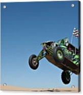 Jumping Hulk Acrylic Print