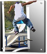 Jumping Out Of The Picture Acrylic Print
