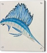 Jumping Swordfish  Acrylic Print