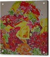 June Bouquet Acrylic Print