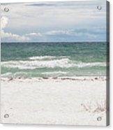 June Waves Acrylic Print