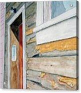 Juneau Townhouse Acrylic Print