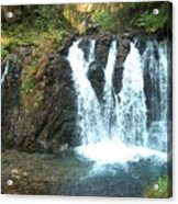 Juneau Waterfall Acrylic Print