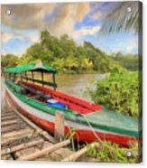 Jungle Boat Acrylic Print
